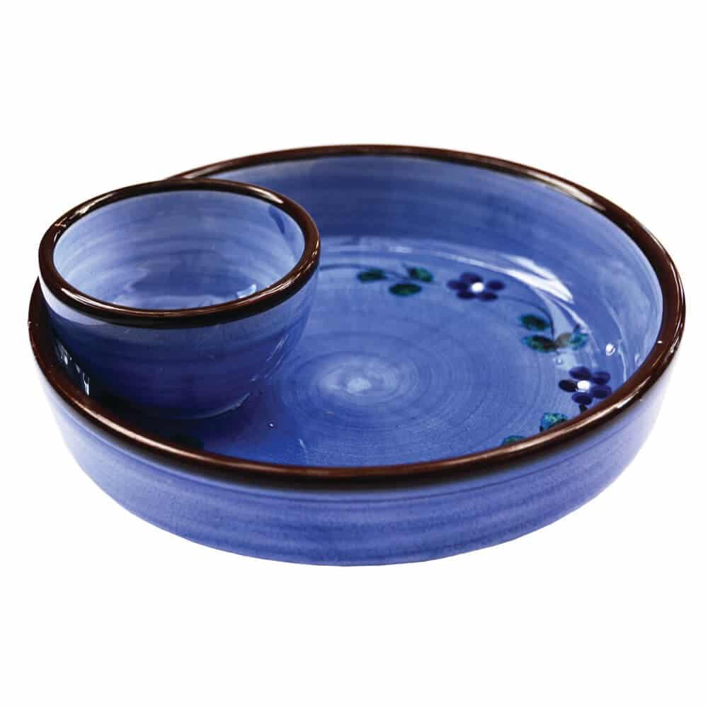 Olive Bowl Blue